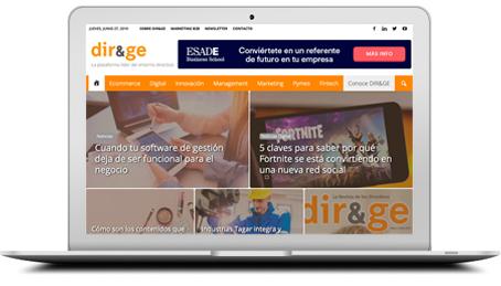 Web DIR&GE - Directivos y gerentes